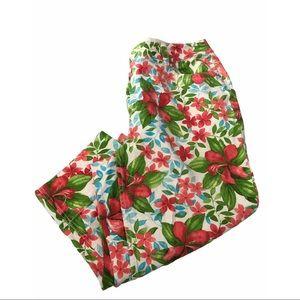 Liz Claiborne Audra Floral Capris